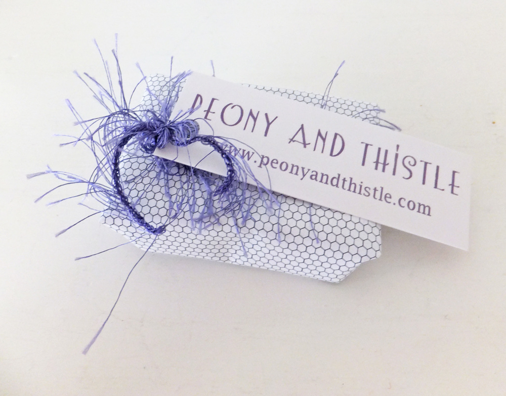 Gift wrapping on Peony and Thistle Blog